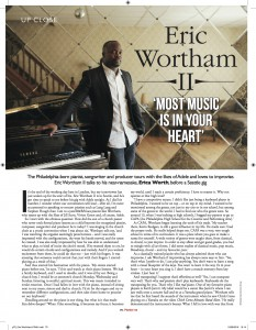 Eric Wortham - Pianist Magazine